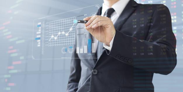 business man show increase market share investment 35761 54 - كيفية اختيار أفضل مكتب دراسة جدوى بالكويت ؟