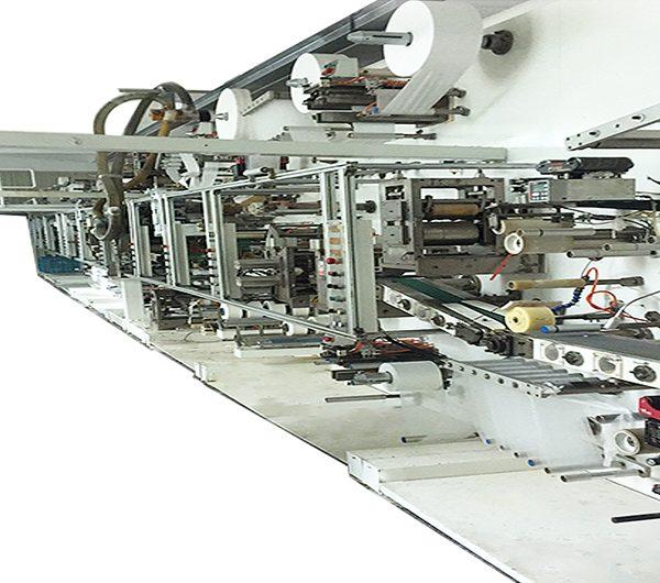 خط إنتاج مصنع حفاضات الأطفال