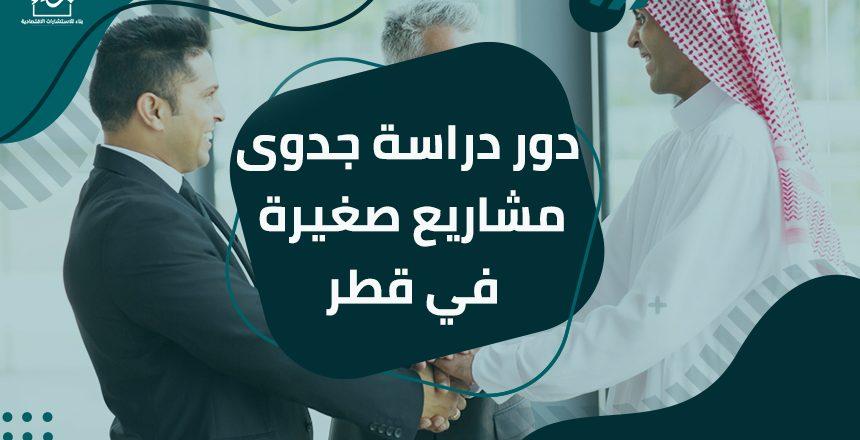 دور دراسة جدوى مشاريع صغيرة في قطر