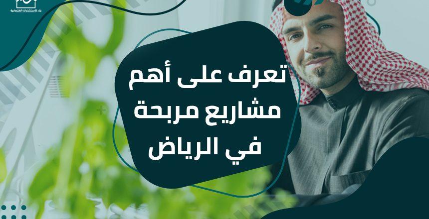 تعرف على أهم مشاريع مربحة في الرياض